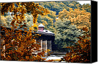 Harpers Ferry Canvas Prints - West Virginia Morn Canvas Print by Bill Cannon