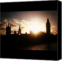 Bestoftheday Canvas Prints - #westminsterbridge #bestoftheday Canvas Print by Ozan Goren