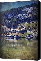 Angora Lakes Canvas Prints - What Lies Before Me Canvas Print by Laurie Search