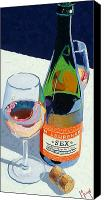 Cakebread Canvas Prints - What We Do Canvas Print by Christopher Mize