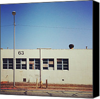 Igerseastbay Canvas Prints - When We Used To :industrial Facade Canvas Print by Resonate Iphoneography
