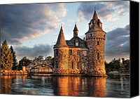 St Lawrence River Canvas Prints - Where Time Stands Still Canvas Print by Lori Deiter