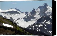 Alpine Canvas Prints - Whistler mountain scenery Canvas Print by Pierre Leclerc