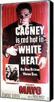 1949 Movies Canvas Prints - White Heat, James Cagney, Virginia Canvas Print by Everett