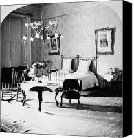 The White House Canvas Prints - White House Bedroom, 1898 Canvas Print by Granger
