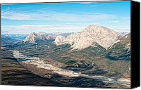 Wiseman Alaska Canvas Prints - White Mountains Canvas Print by Gary Rose