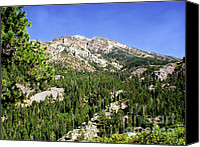 Photographs Canvas Prints - White Rock Mountain Canvas Print by The Kepharts