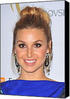 Dangly Earrings Canvas Prints - Whitney Port At Arrivals For The 2nd Canvas Print by Everett