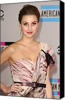 Nokia Theatre Canvas Prints - Whitney Port  Wearing A Rafael Cennamo Canvas Print by Everett