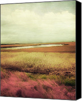 Kiawah Island Canvas Prints - Wide Open Spaces Canvas Print by Amy Tyler