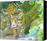 Leopards Canvas Prints - Wild in Spirit Canvas Print by Jeff Kolker