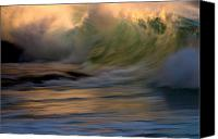 Ocean Digital Art Canvas Prints - Wild Triton Canvas Print by Brad Scott