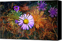 Photoart Canvas Prints - Wildflowers Canvas Print by Ed Hall