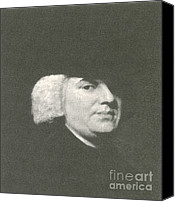 Analogy Photo Canvas Prints - William Paley, English Theologist Canvas Print by Science Source