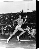 Ambition Canvas Prints - Wilma Rudolph (1940-1994) Canvas Print by Granger