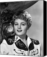 1950s Portraits Canvas Prints - Winchester 73, Shelley Winters, 1950 Canvas Print by Everett