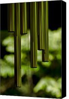 Wind Chimes Canvas Prints - Wind Chimes Canvas Print by Don Schwartz