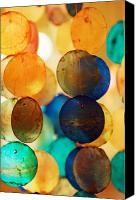 Chimes Canvas Prints - Wind Chimes Canvas Print by Jill Reger