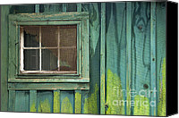 Condemn Canvas Prints - Window to the Past - D007898 Canvas Print by Daniel Dempster