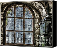 Prague Castle Canvas Prints - Window with a View Canvas Print by Joan Carroll