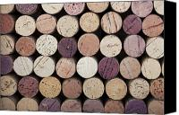Winery Canvas Prints - Wine corks  Canvas Print by Jane Rix