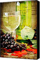 "\""painterly Photography\\\"" Photo Canvas Prints - WIne Canvas Print by Darren Fisher"