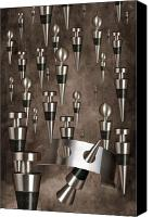Surreal Canvas Prints - Wine Stopper Storm Canvas Print by Tom Mc Nemar
