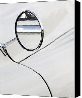 Wing Mirror Canvas Prints - Wing it Canvas Print by Chris Dutton
