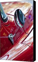 Wing Mirror Canvas Prints - Wing Mirror Canvas Print by Chris Dutton