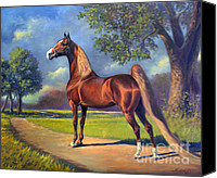 American Canvas Prints - Winsdown Celebration Canvas Print by Jeanne Newton Schoborg