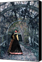 Aristocrat Canvas Prints - Winter Arbor Canvas Print by Jill Battaglia