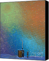 Lonesome Canvas Prints - Winter Solitude 10 Canvas Print by Jacqueline Athmann