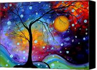 Bold Canvas Prints - Winter Sparkle by MADART Canvas Print by Megan Duncanson