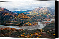 Wiseman Alaska Canvas Prints - Wiseman Alaska Canvas Print by Gary Rose