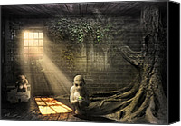 Foreboding Canvas Prints - Wishing Play Room Canvas Print by Svetlana Sewell