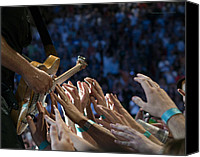 Concert Canvas Prints - With These Hands Canvas Print by Jeff Ross
