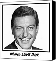 Van Dyke Canvas Prints - Woman LOVE Dick Canvas Print by Bruce Iorio