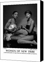 African American Female Canvas Prints - Women Of A New Tribe - Chores I Canvas Print by Jerry Taliaferro
