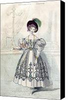 1833 Canvas Prints - Womens Fashion, 1833 Canvas Print by Granger