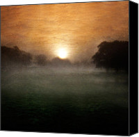 Red Pyrography Canvas Prints - Wonder Canvas Print by Ian David Soar