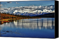 Denali Canvas Prints - Wonder Lake III Canvas Print by Rick Berk