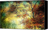 Fall Canvas Prints - Wondering Canvas Print by Bob Orsillo