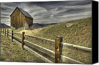 Woody Canvas Prints - Woody Creek Canvas Print by Tom Cuccio