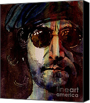 Legend Canvas Prints - Working Class Hero Canvas Print by Paul Lovering