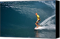 Kelly Slater Canvas Prints - World Champion x11 Canvas Print by Kevin Smith