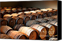 Fashioned Canvas Prints - World-class wine is made in California Canvas Print by Christine Till
