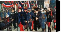 Amputee Canvas Prints - World War I: Veterans Canvas Print by Granger