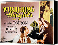 1930s Movies Canvas Prints - Wuthering Heights, Laurence Olivier Canvas Print by Everett