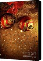 Xmas Canvas Prints - Xmas Balls Canvas Print by Carlos Caetano
