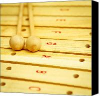 Beaters Canvas Prints - Xylophone Canvas Print by Tom Gowanlock